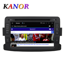 KANOR Android 5.11 Car DVD Multimedia Player Renault Duster Logan Sandero 2012 2013 1024*600 7inch Video Autoradio WIFI - Store store