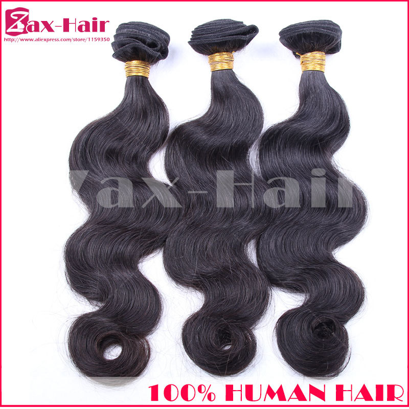 3 pcs/lot Brazilian virgin hair grade 6A 100% virgin human hair weft unprocessed brazilian body wave wholesale weave customized<br><br>Aliexpress