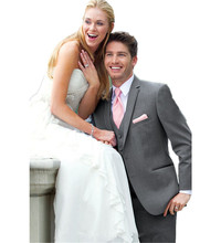 2015 Bridegroom Wedding Suit Business Professional dress Groom Three-piece(jacket+pants+vest+tie)