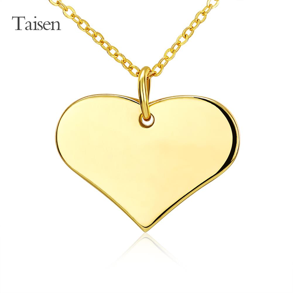 gold necklace women jewelry necklace 2016 love heart pendants for lovers cute fashion pendant women perfume dress hot sale(China (Mainland))