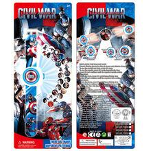 3D Brinquedos Eletrônicos Para Crianças Dos Desenhos Animados Olá Kitty Spiderman Ironman Hulk Brinquedo Relógio Relógio De Projeção Crianças Brinquedo de Presente de Aniversário(China)