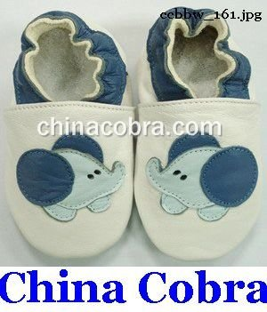 free shipping genuine leather baby pre walker shoes(China (Mainland))