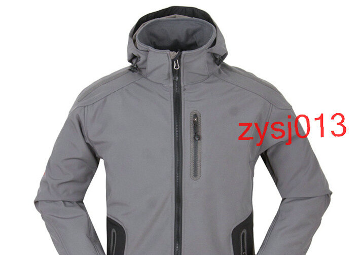 Soft Shell Men's face Jacket Outdoor Sports Waterproof Windproof Sports Autumn Spring Man's sport Sell Like Hot Cakes zysj013(China (Mainland))