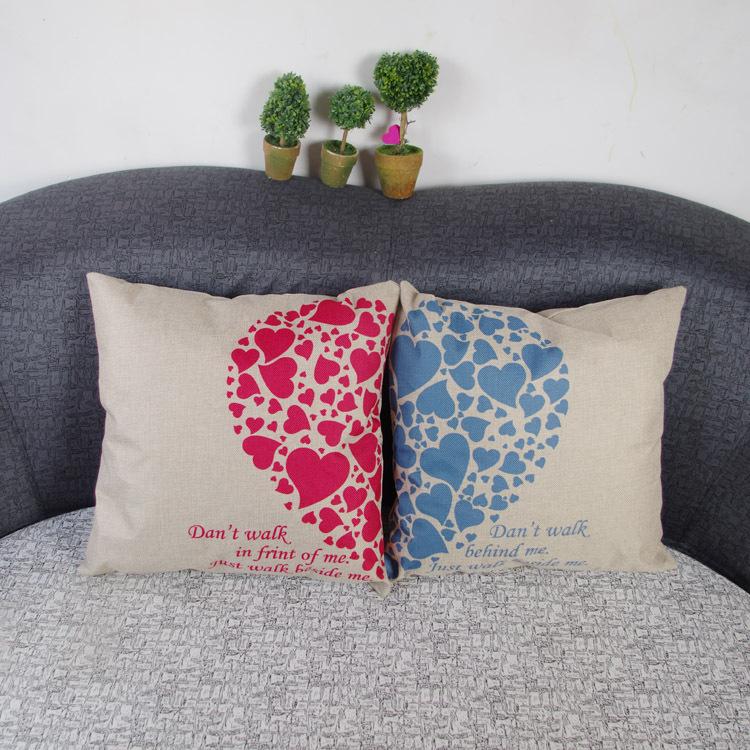coeur oreiller motif promotion achetez des coeur oreiller motif promotionnels sur. Black Bedroom Furniture Sets. Home Design Ideas