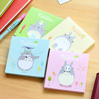 Cute Kawaii My Neighbor Totoro Sticky Notes Memo Pad Planner Stickers Post it School Stationery Office Supplies Message