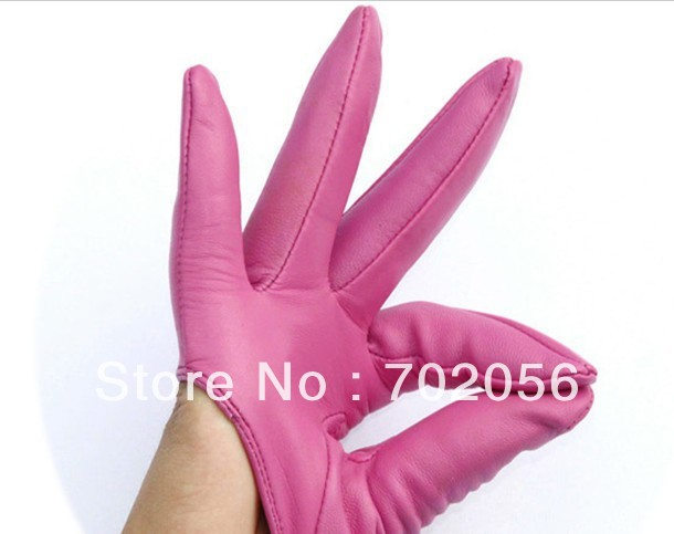 Sex and City Five Finger Leather half/palm gloves leather half palm gloves Lambskin 30pair/lot #3132Одежда и ак�е��уары<br><br><br>Aliexpress