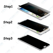 Privacy Anti-Spy Real Tempered Glass Screen Protector Film For iphone 5s 5c 5 Cover Shield 100pcs with retail package
