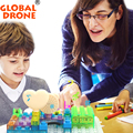 Globl Drone Electronic Building Blocks Plastic DIY Science Blocks Kids gift Toys practical Funny Creative electronic