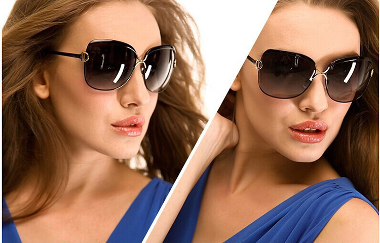Aliexpress.com Comprar 2016 nueva moda De señora mujeres gafas De Sol polarizadas para la mujer marca diseño lente gradiente gafas De Sol gafas De Sol