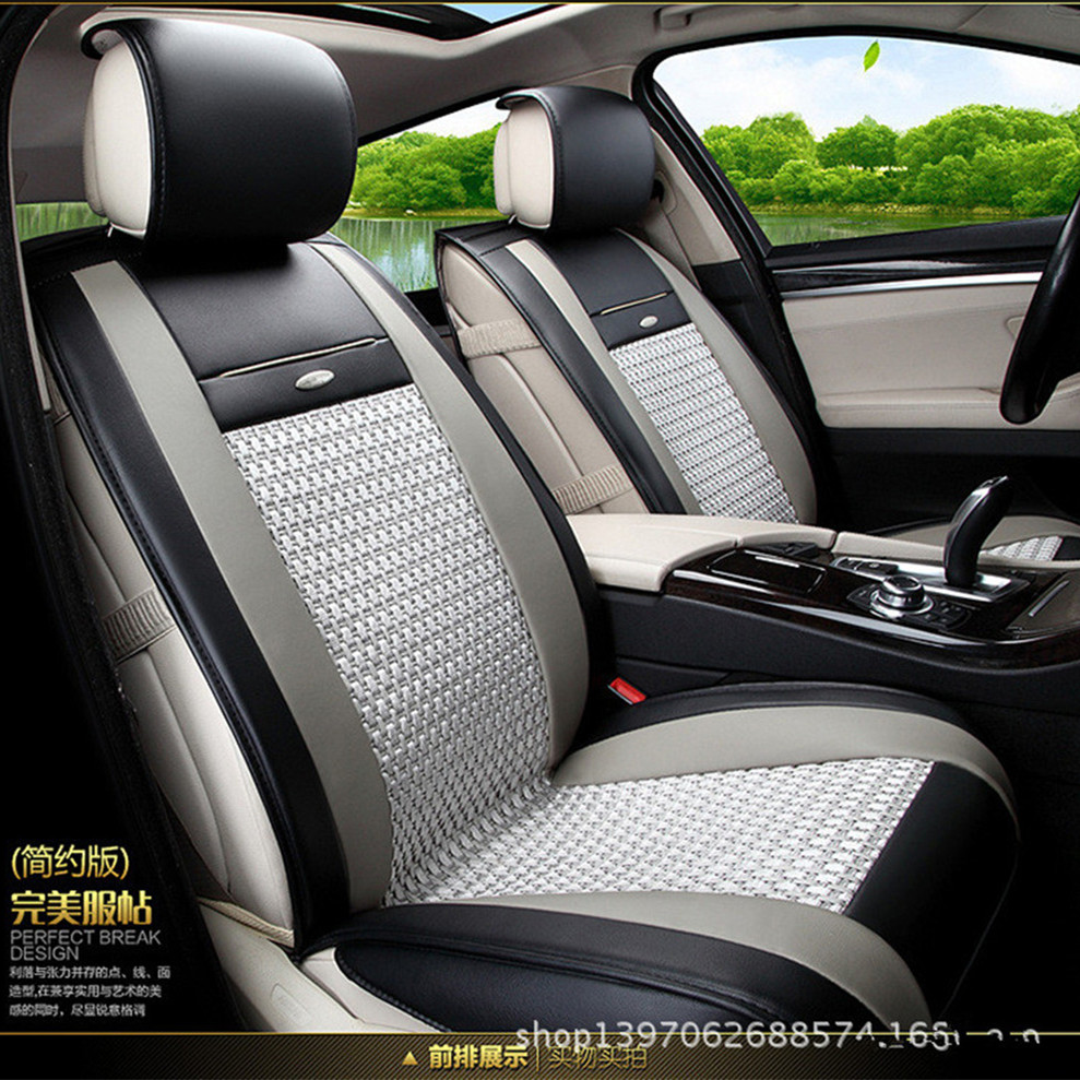 breathable car seat covers universal 5 seats express delivery ems free shipping in automobiles. Black Bedroom Furniture Sets. Home Design Ideas