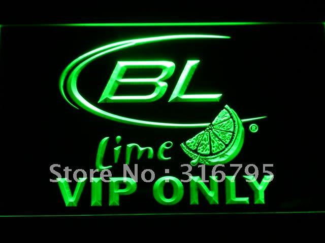 677-g VIP Only Bud Lite Lime Beer LED Neon Light Sign(China (Mainland))