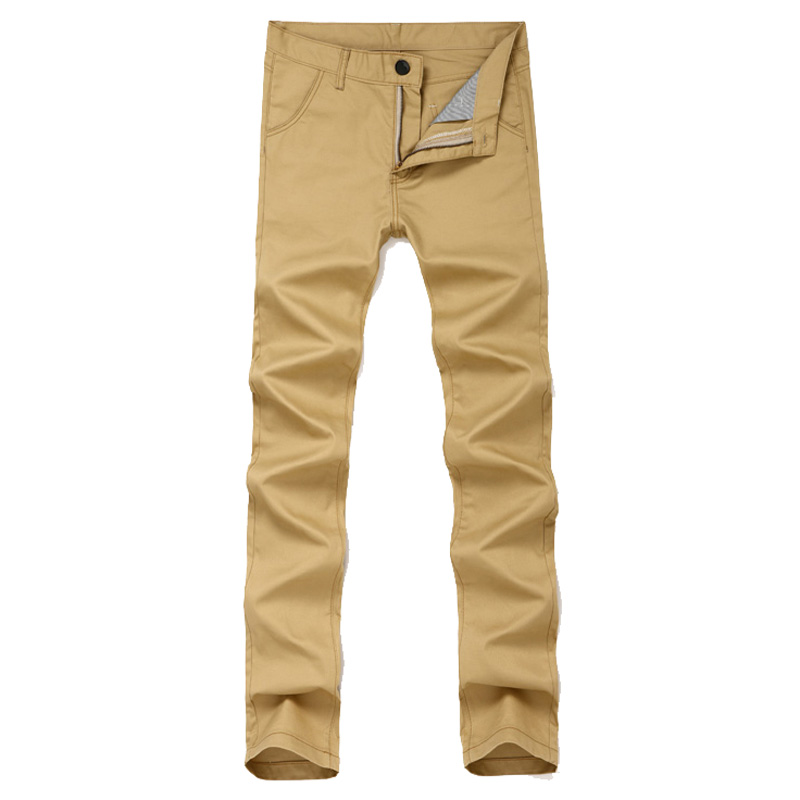 Popular Mens Slim Fit Khaki Pants-Buy Cheap Mens Slim Fit Khaki ...