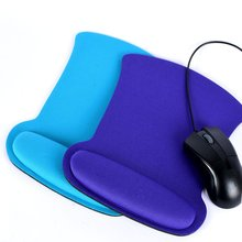 Soft Sponge Wrist Rest Support Mouse Mat Gaming Mice Pad For PC Laptops Durable A57(China (Mainland))