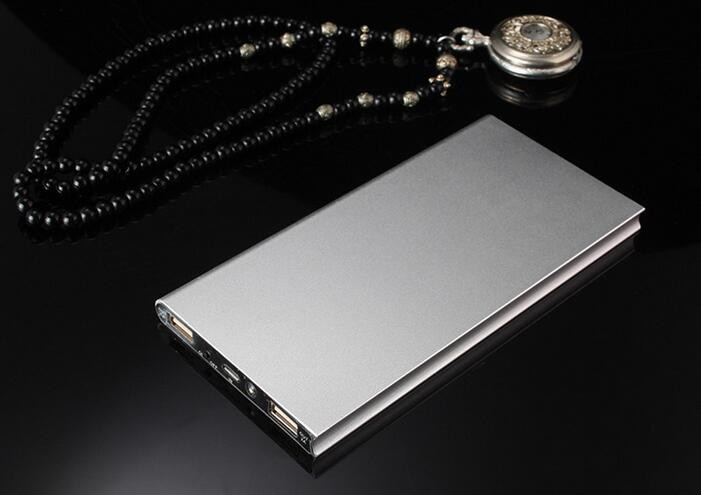 Dual USB Charging 20000mAh Portable Power Bank Battery Charger with Built-in Li-Polymer Battery