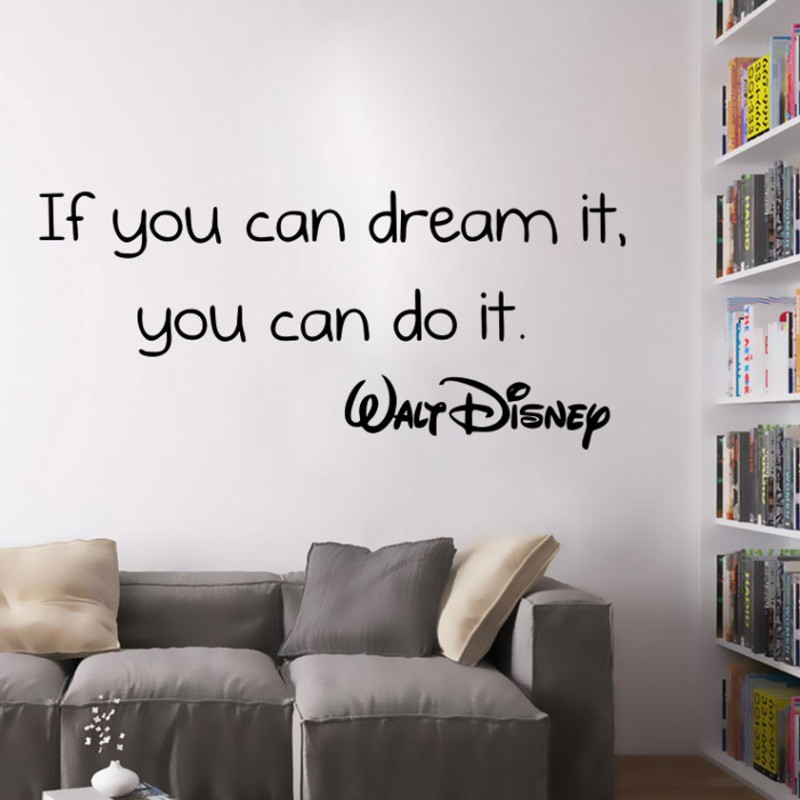 1pc if you can dream it you can do it inspirational quote