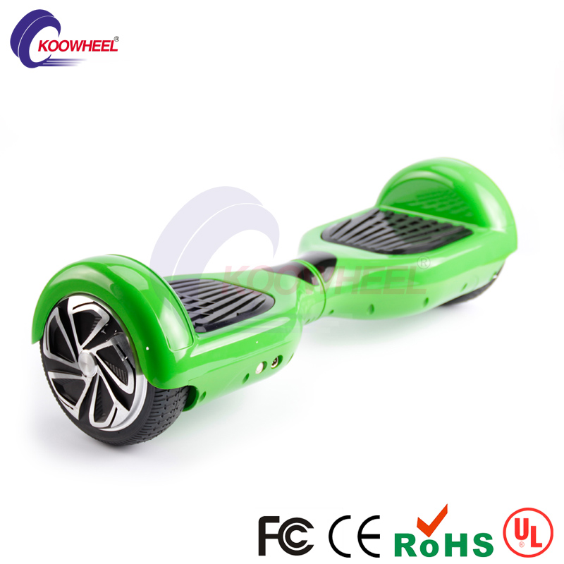 DE oversea stock shipping 2 wheel electric balance scooter pennyboard hoover board crashproof oxboard with LED light(China (Mainland))