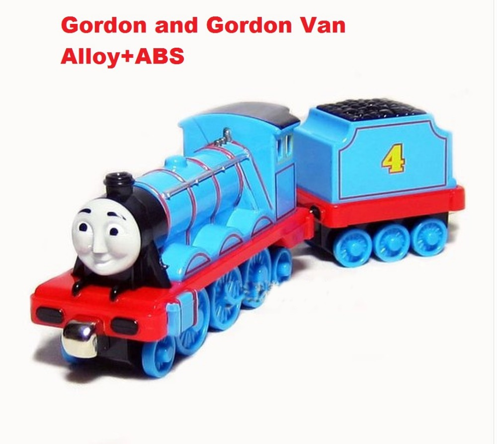 Kids toys--2pcs Thomas and Friends metal Models Educational Toys- Gordon & Gordon Van(Hong Kong)