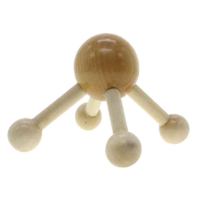 Wooden Full Body Massage Tool Shoulder Back Waist Muscle Head Relax Massager