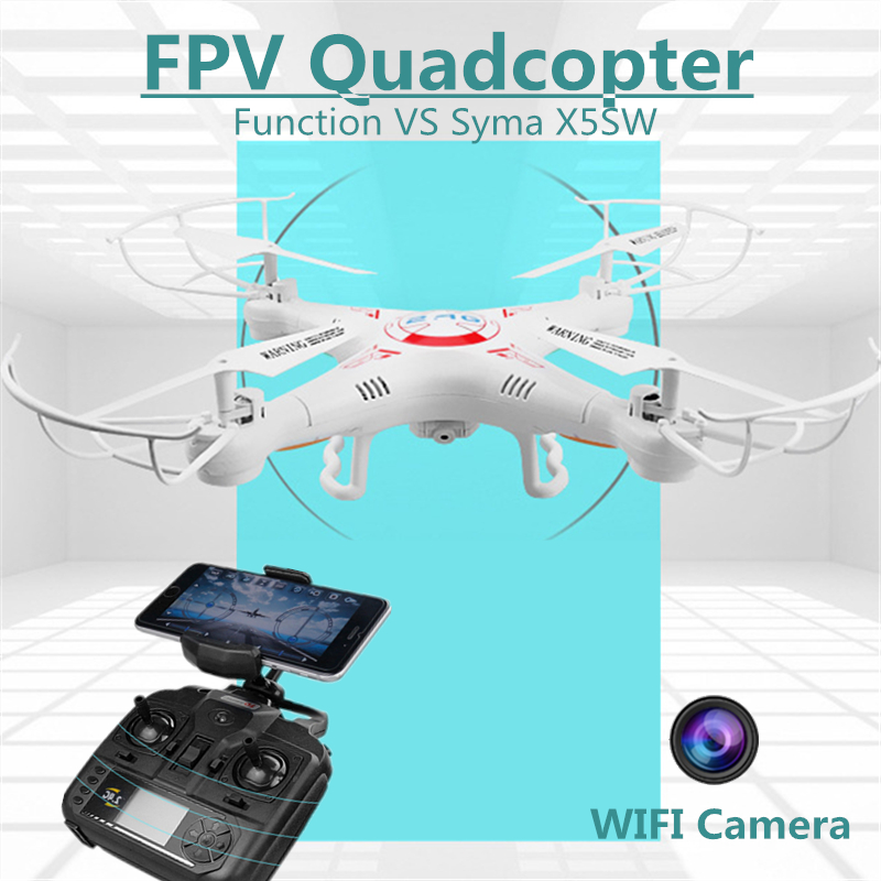 Wifi Rc Drone Flying Camera Helicopter Drones With FPV Camera HD Quadcopters Remote Control Hexacopter Toys VS SYMA X5SW(China (Mainland))
