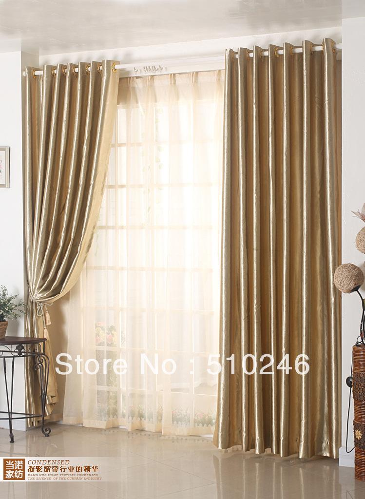 2013 new arrival customized beige golden livingroom door for Habiller fenetre salon
