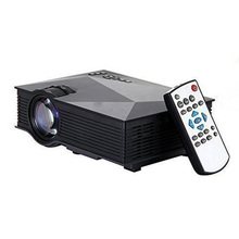 Wireless Portable Auto Cinema Mini Projector with HDMI TF Card USB WiFi LED proyector for Home theater 2016 Best Gift UNIC UC46(China (Mainland))