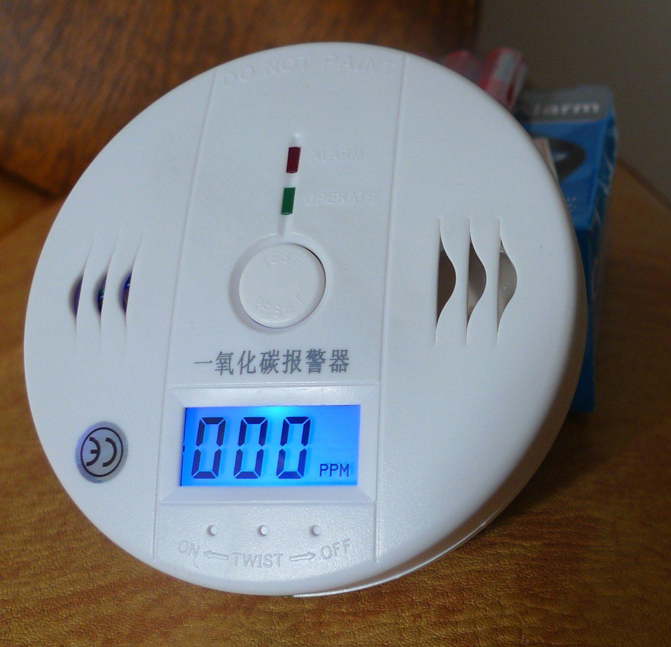 Carbon monoxide alarm smoke gas detector of household honeycomb CO gas detection(China (Mainland))