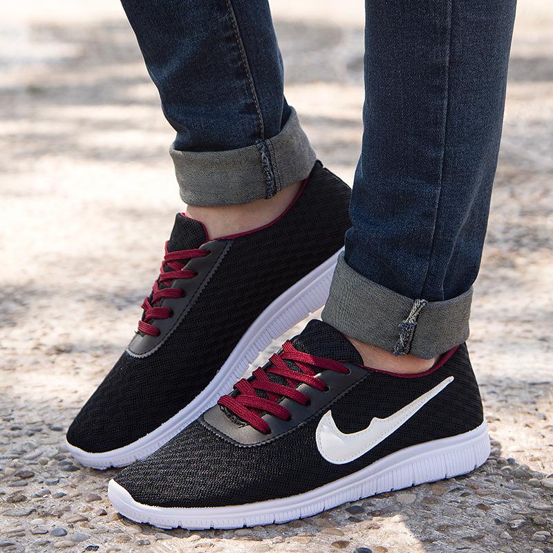 2015 Brand Sneakers Men Fashion Mesh Footwear Men shoes Casual Summer Sport Running Shoes Huarache Sneakers(China (Mainland))