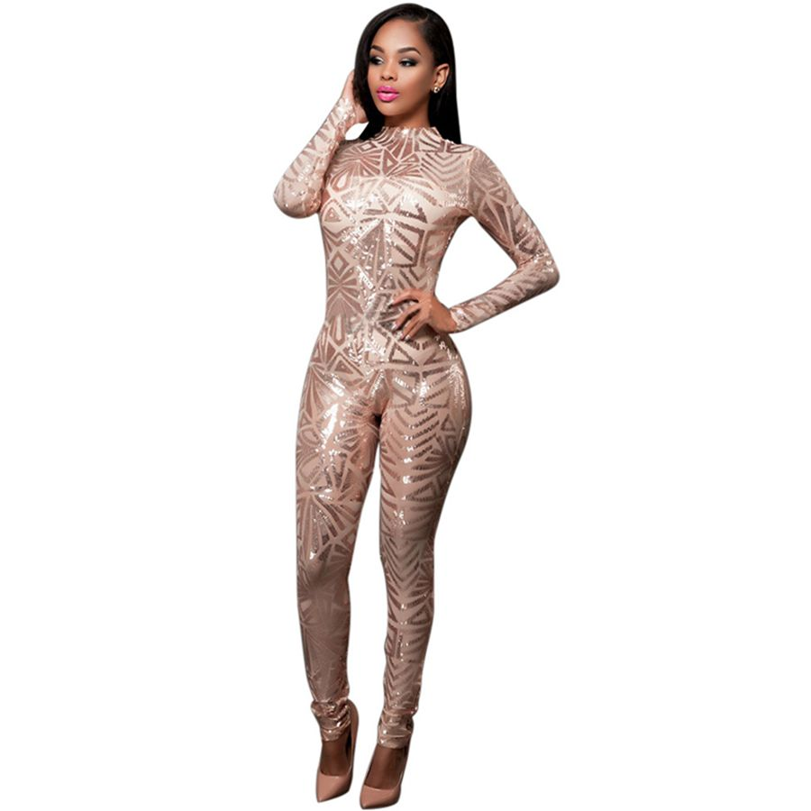 Sequin Jumpsuit White Promotion-Shop for Promotional Sequin ...