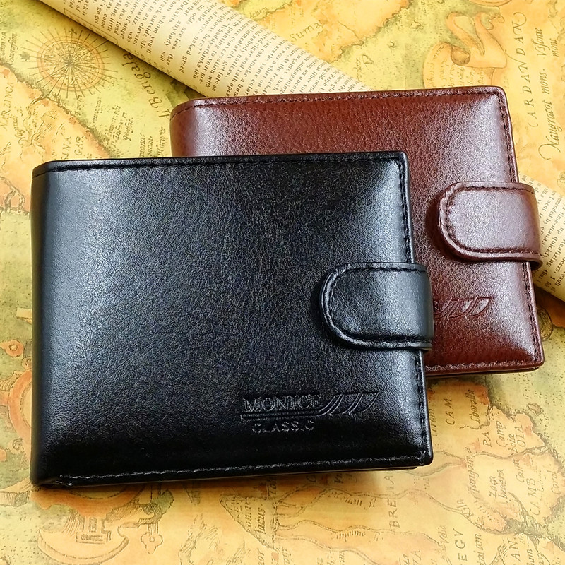 2016 Fashion PU Leather Wallet for Men, High quality men wallet with coin bag, Wholesale men Wallets, Free Shipping(China (Mainland))