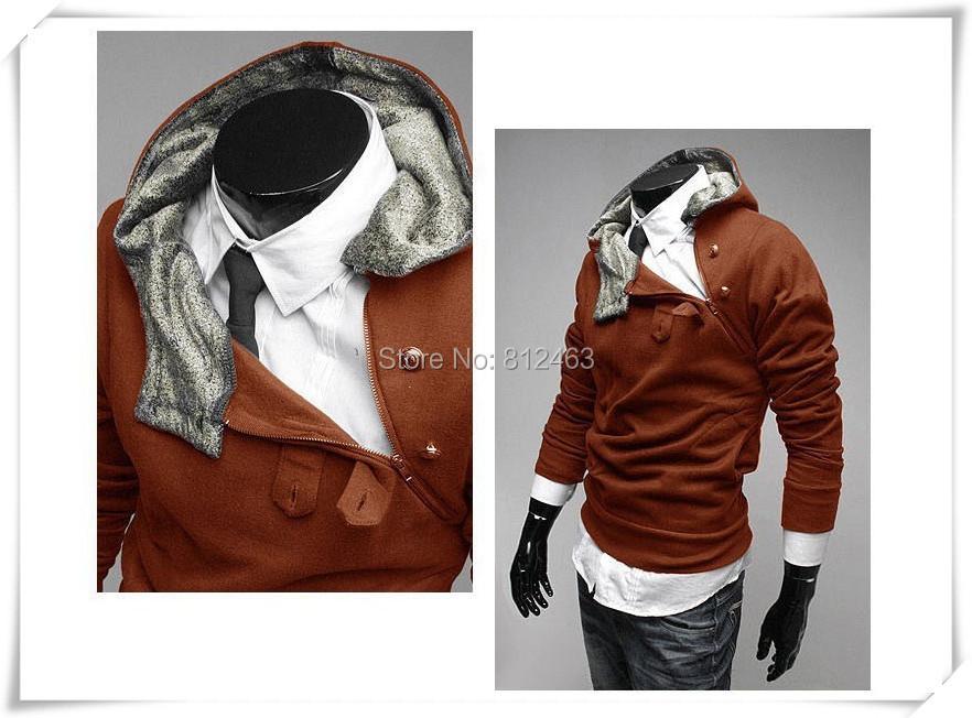 ! men's hoodies coat cheep clothing keep warm fashion jacket men - Netmall store