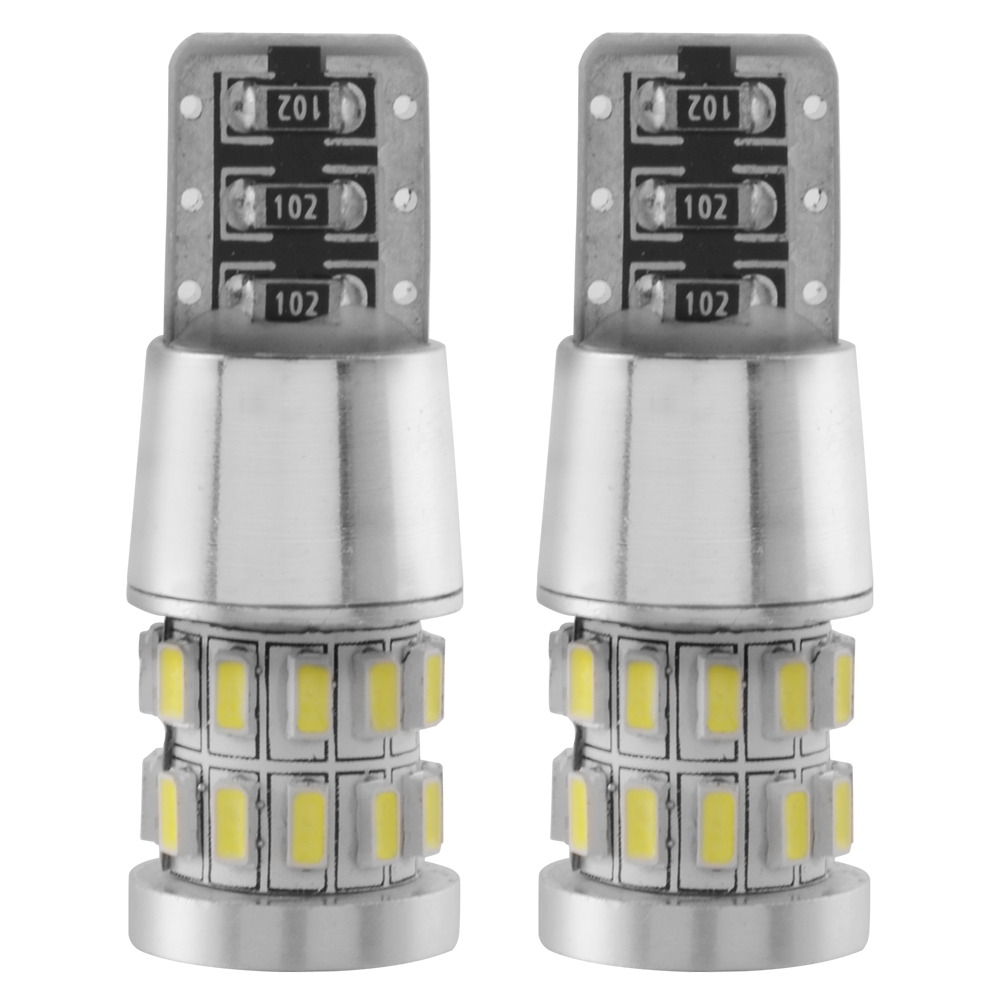 2pcs 3W Canbus W5W LED T10 3014 30SMD 12V Car LED External Light Clearance Bulbs Backup Reverse Lamp Number Parking Light MA377(China (Mainland))