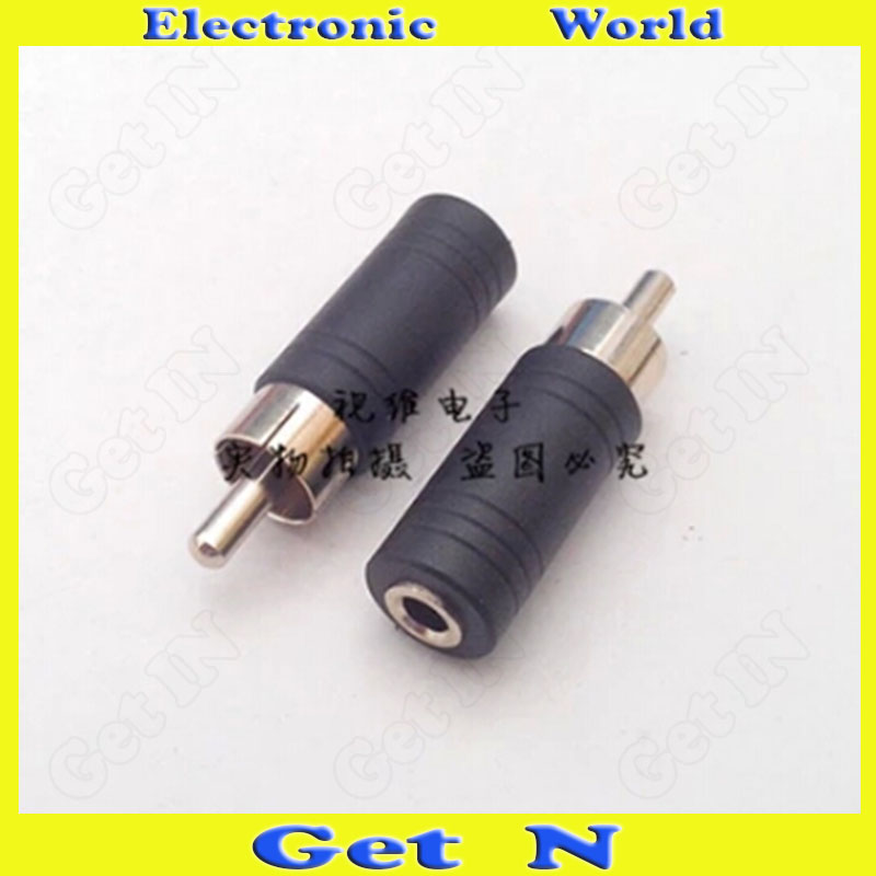 200pcs Audio Adapter Connector Converting 3.5 Female to AV RCA Male to 3.5 3.5 to RCA <br><br>Aliexpress