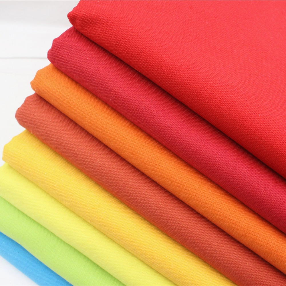 16628-44F2 , New Arrival! Pure Color Cotton Linen Fabric Plain Weave Fabrics For Sewing Textile Cloth 140cm clothing accessories(China (Mainland))