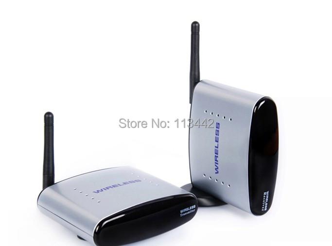 2.4G Audio Video AV Wireless Transmitter receiver IR remoter 150m Receiver Kit PAT-220 - Lucky goods store