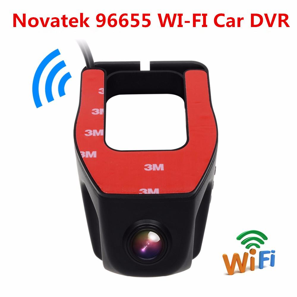 Novatek 96655 Sony IMX322 WiFi APP FHD 1080P 160 Degree Wide Angle Mini Hidden Car DVR Dash Camera Video Registrator Recorder(China (Mainland))