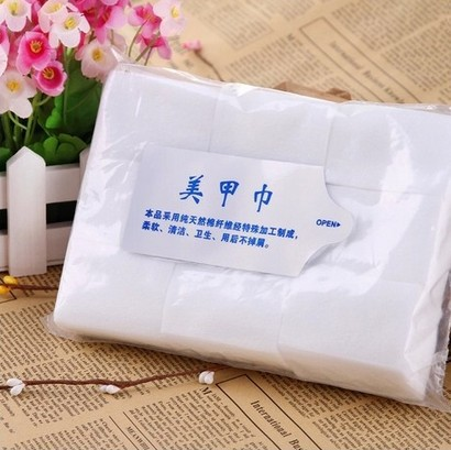 New 2014 900Pcs Nail Art Wipes Lint Cleaner Paper Pad Acrylic Gel Polish Tips Remover(China (Mainland))