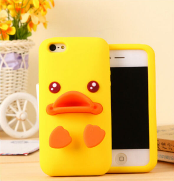"""3D Ugly Duckling Soft Silicon Protective Back Cover Phone Case For Iphone 6 Plus 5.5"""" YC367(China (Mainland))"""