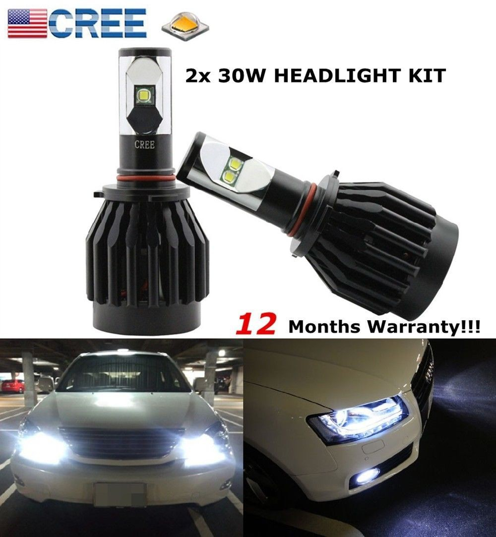 40W 4000LM LED Motorcycle Headlight Kit For H4 9003 HB2 Hi low Beam Xenon White Replace HID,H7 H8 H11 For Scooter Autocycle(China (Mainland))