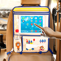 Hot Child Car Seat Tray Waterproof Storage Board  Toy Car Table Holder Tray Desk Infant Stroller Board Table Kids Car Organizer