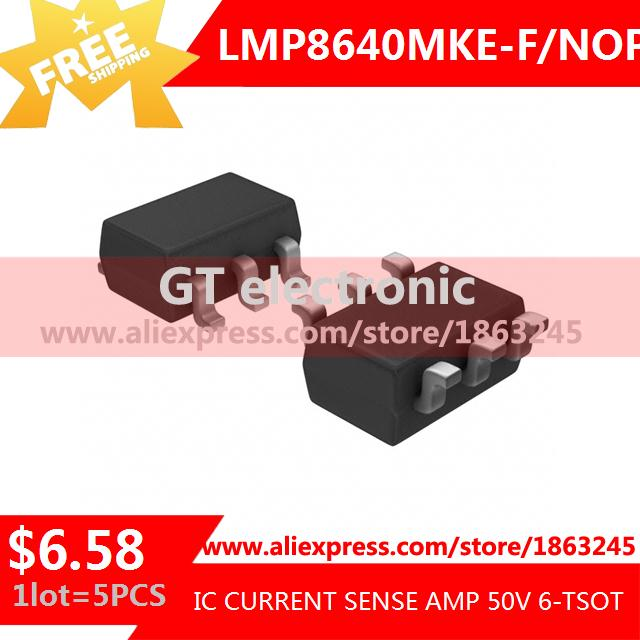 Free Shipping Hot Sell Integrated Circuits Original LMP8640MKE-F/NOPB IC CURRENT SENSE AMP 50V 6-TSOT LMP8640MKE-F 8640 LMP8640(China (Mainland))