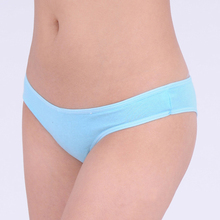 86378 Free Shipping New Arrival 2015 Women Cotton Thong Bikini