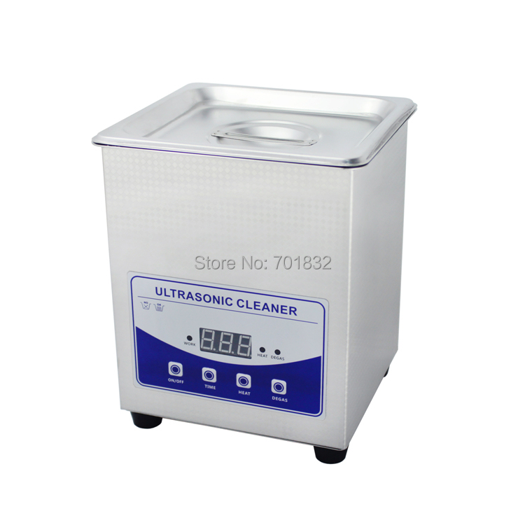 2L Professional Print nozzle ultrasonic cleaner JP-010T with upgrade degassing function(China (Mainland))