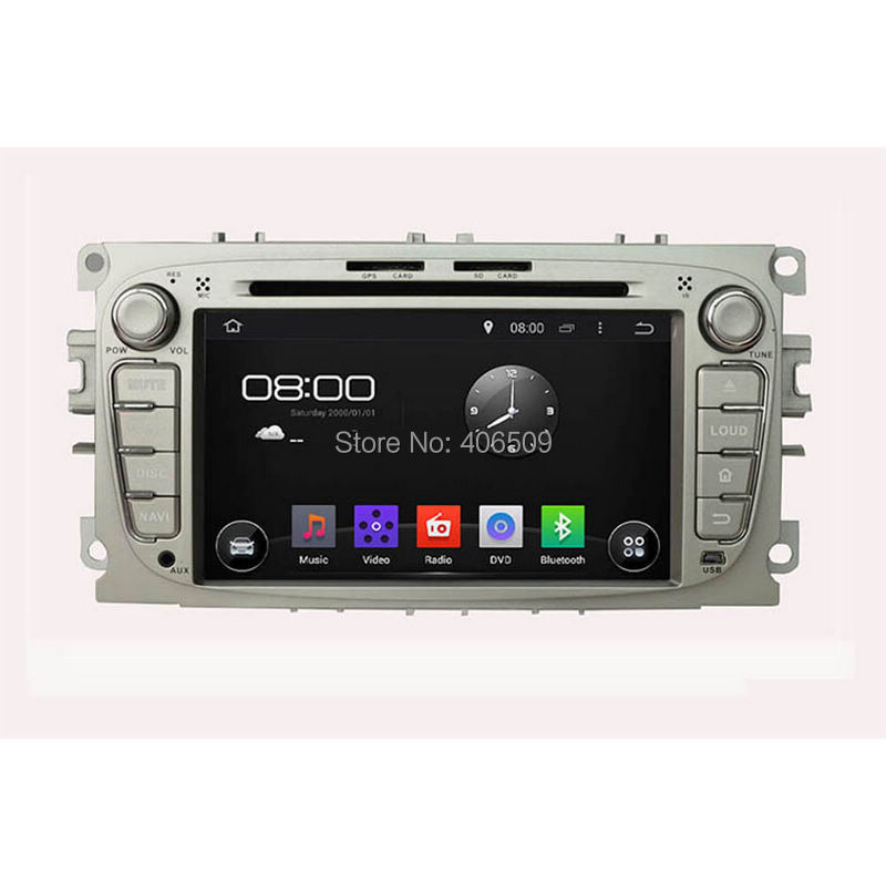 Android 5.1 Car DVD Player for Ford Focus 2008 2009 2010 with GPS Navigation Radio BT MP3 USB AUX DVR Video WIFI Audio Stereo(China (Mainland))