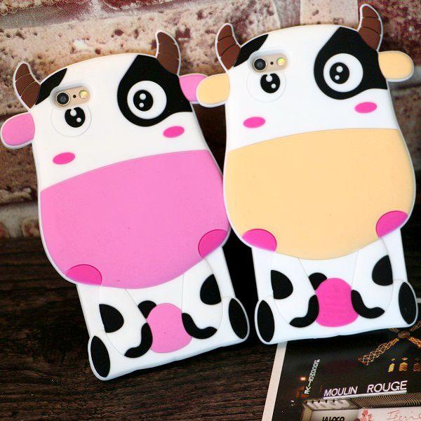 For iphone 6 6plus font b phone b font font b case b font Cartoon milk
