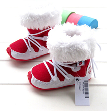 2015 Hot selling Baby Sonw Boots Girls Winter Shoes Kids Button Snow Boots Free Shipping(China (Mainland))