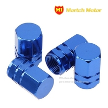 4Pcs Tire Valve Stem Caps Aluminum Universal Car Motorcycle Auto Bicycle Alloy Air Dust cover(China (Mainland))