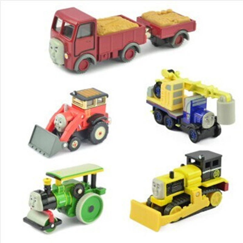 6 Pieces/set Diecast metal Thomas and Friends trains the tank engine trackmaster toys for children kid-Lorry&Trailer,Jack,Kelly(Hong Kong)