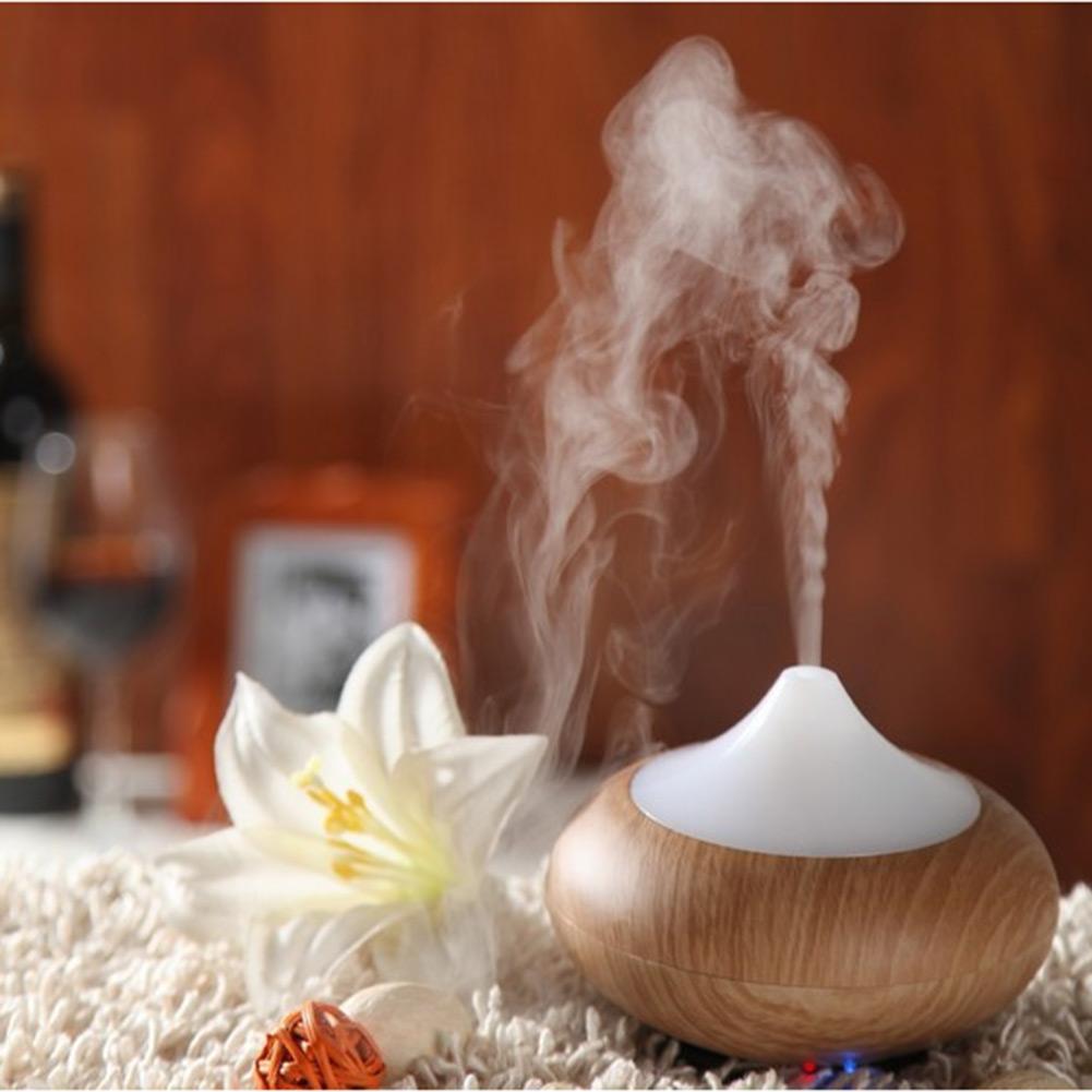 Гаджет  Antique Portable Aroma Diffuser Humidifier Fragrances Freshener Purifier Ionizer Generator Wood Grain None Бытовая техника