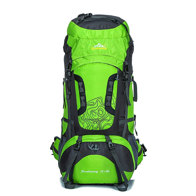 80L Large Outdoor Backpack Waterproof Unisex Nylon Travel <font><b>Bags</b></font> Camping Hiking <font><b>Climbing</b></font> Backpacks Waterproof Rucksack Sport <font><b>bag</b></font>