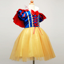 Buy New Summer Girls Snow White Princess Dresses Kids Girls Halloween Party Christmas Cosplay Dresses Costume Children Girl Clothing for $9.88 in AliExpress store